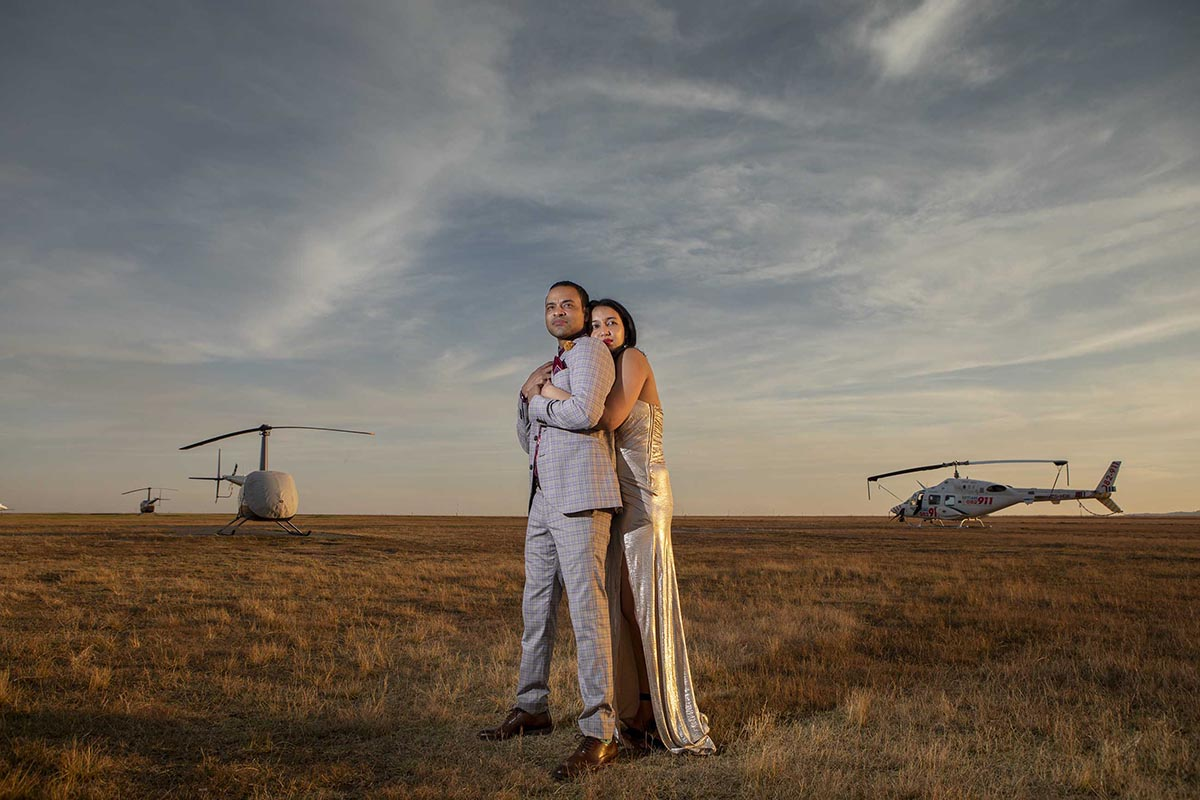 South African Award Winning Engagement Photographer Darrell Fraser with Theo and Tammy